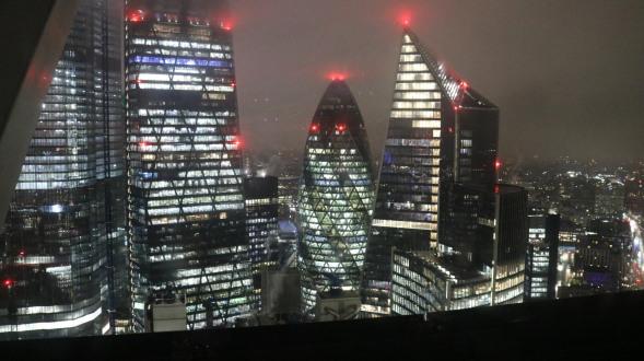 Vistas en Londres gratis, edificio alto